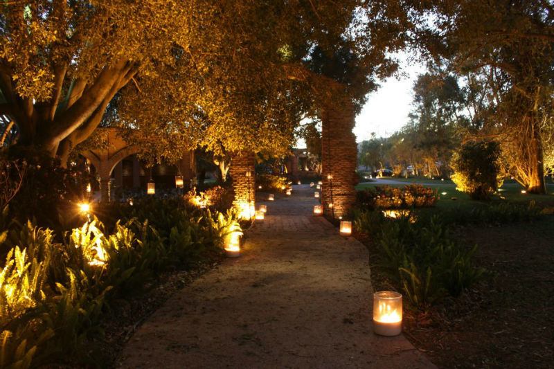 Terraza y jardín para bodas en Guadalajara, La Gotera