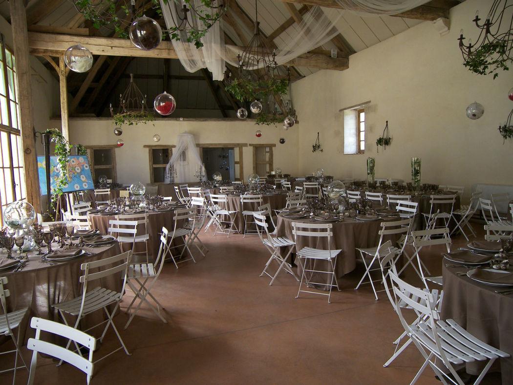 Salle de réception du Château de Beaujeu