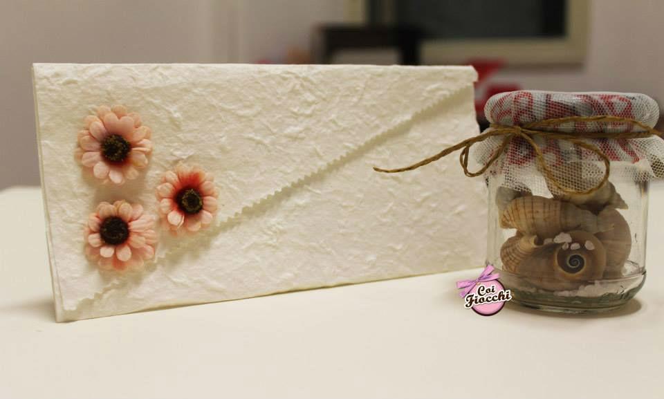 Coi Fiocchi wedding design - invito in carta di riso