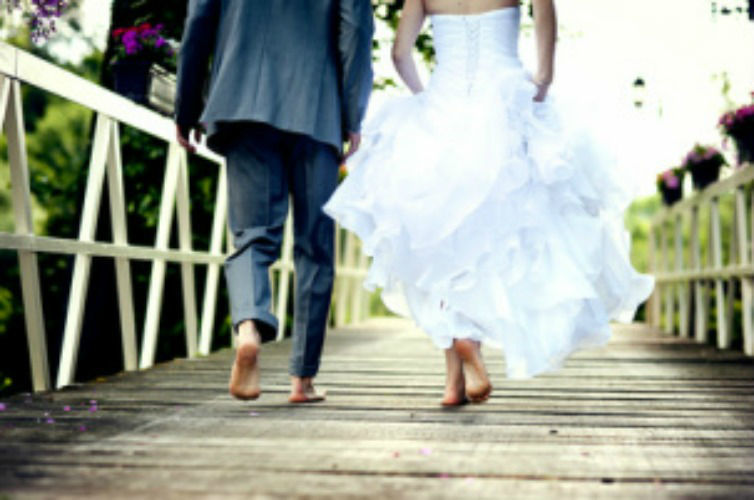 Beispiel: Just Married, Foto: Dreamlike Celebrations & more.