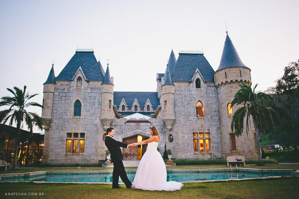 Ana Telma - Casamento: Luiza e Renato - First Look - Castelo de Itaipava - RJ