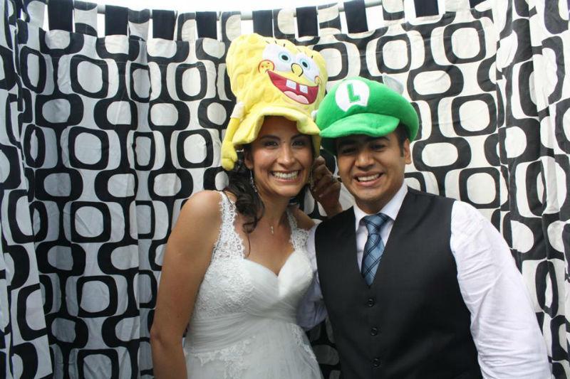 Cabina de fotos para tu boda en Cuernavaca