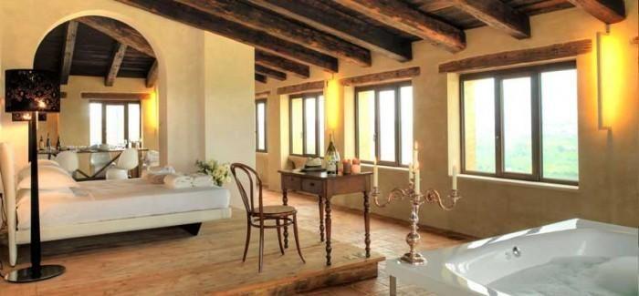 Gli interni - Castello di Semivicoli