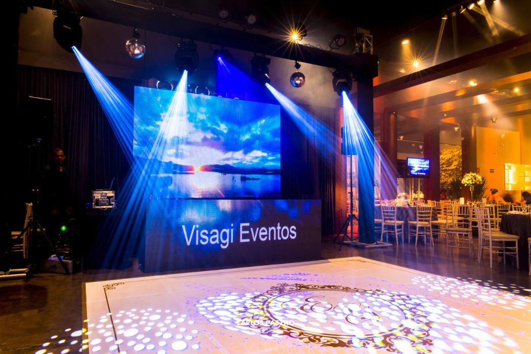 DJ e VJ - Visagi Eventos - Som-Luz-Projeção