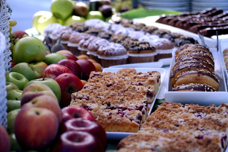 Beispiel: Süßspeisen die verführen, Foto: Brunckhorst Catering.