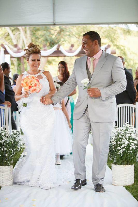Sitio Caminho  das Pedras Inimaginável Decoração Muita felicidade nos casamentos no Sitio Caminho das Pedras