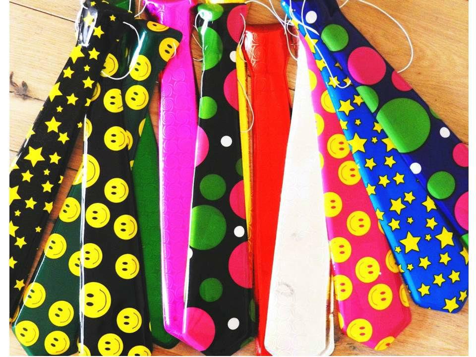 Corbatas plásticas varios diseños
