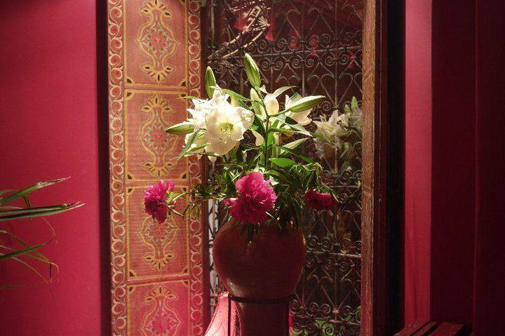 Beispiel: Florale Dekoration, Foto: Le Marrakech.