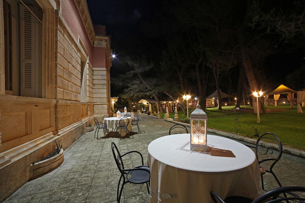 scorcio  di Villa Maria in inverno