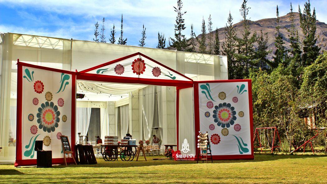 Retablo: bodas peruanas auténticas