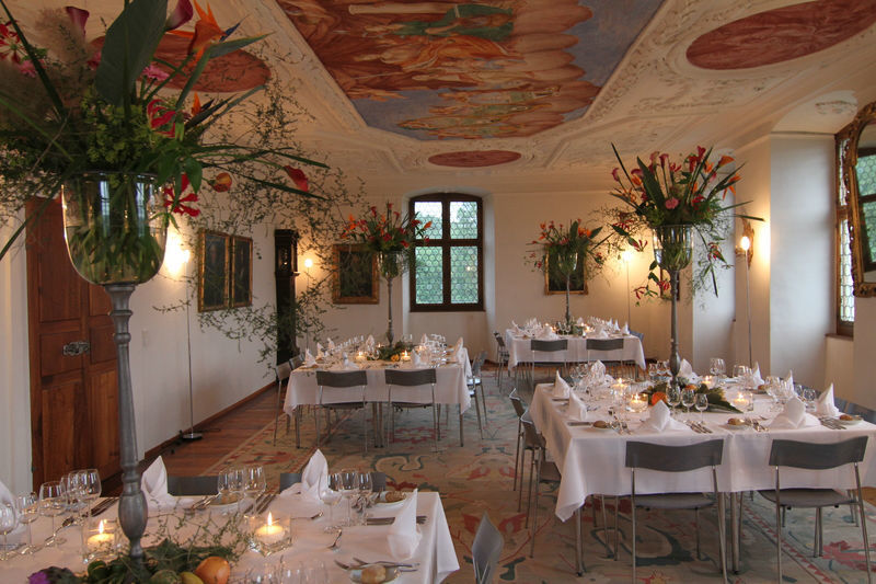 Beispiel: Festsaal, Foto: Schloss Heidegg.