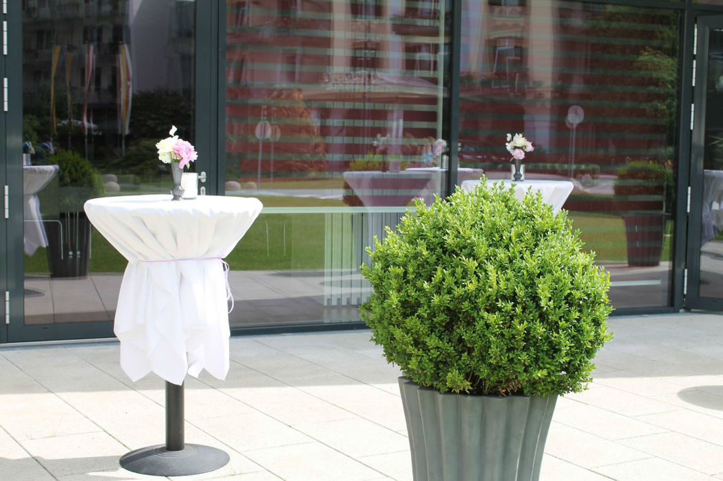Beispiel: Open-Air Hochzeit, Foto: Warmbaderhof.