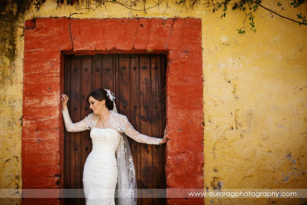 Hermosa Novia en Hacienda El Carmen, Jalisco