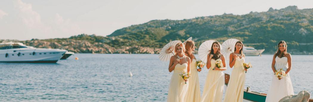 Luxury wedding on the beach a La Maddalena