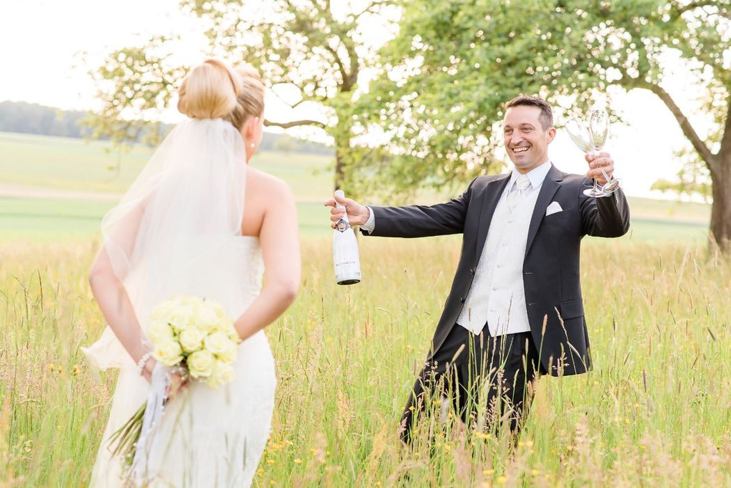 Hochzeitsfotos im Candy-Style.