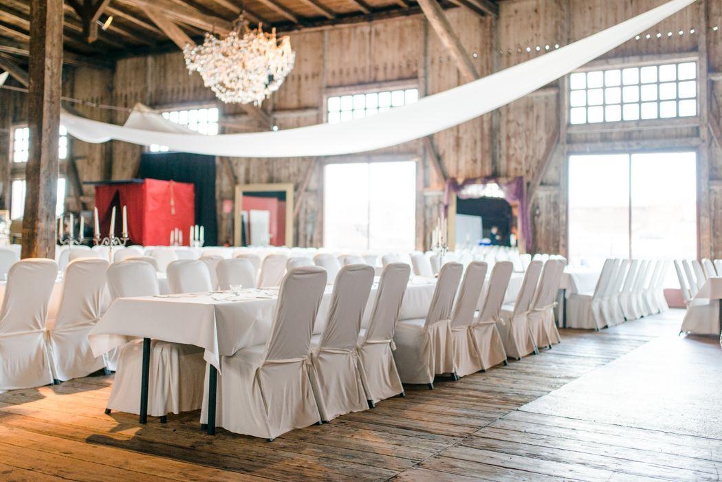 Schuppen 9 Großer Saal und Blauer Salon