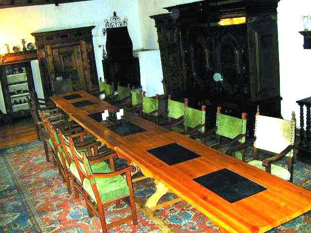 Beispiel: Gerichtszimmer, Foto: Burg Strechau.