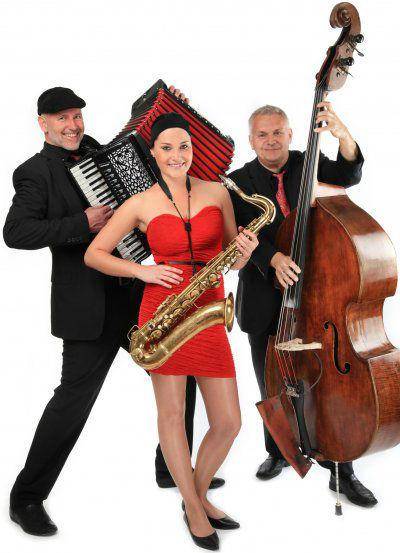 Beispiel: Trio-Besetzung, Foto: Voice and Music.