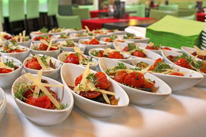 Beispiel: Catering, Foto: Hotel eduCare.