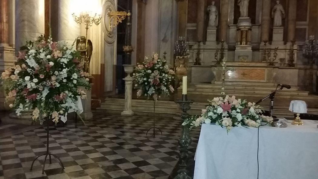 Decoracion Iglesia Dominica Recoleta.