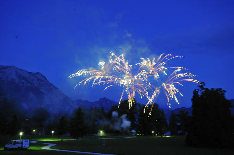 Beispiel: Feuerwerk, Foto: SagJa.