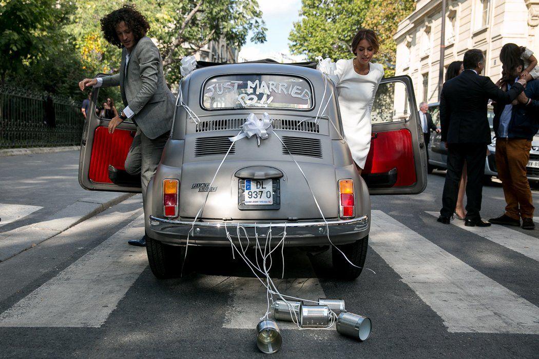 Mariage de Elie & Lauren, Mairie du 4ème à Paris, crédit Studio Cabrelli