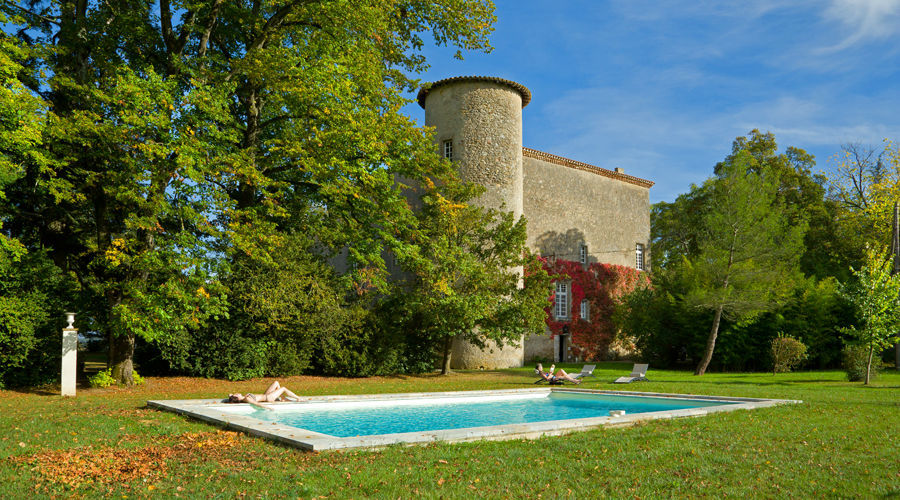 Château de la Commanderie Piscine
