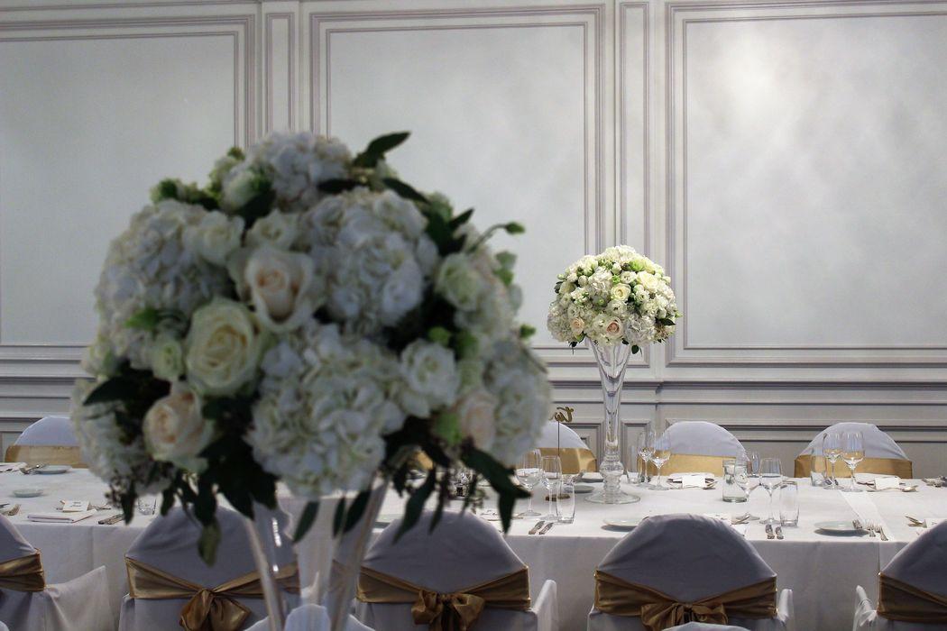 Weisse Blumenbracht