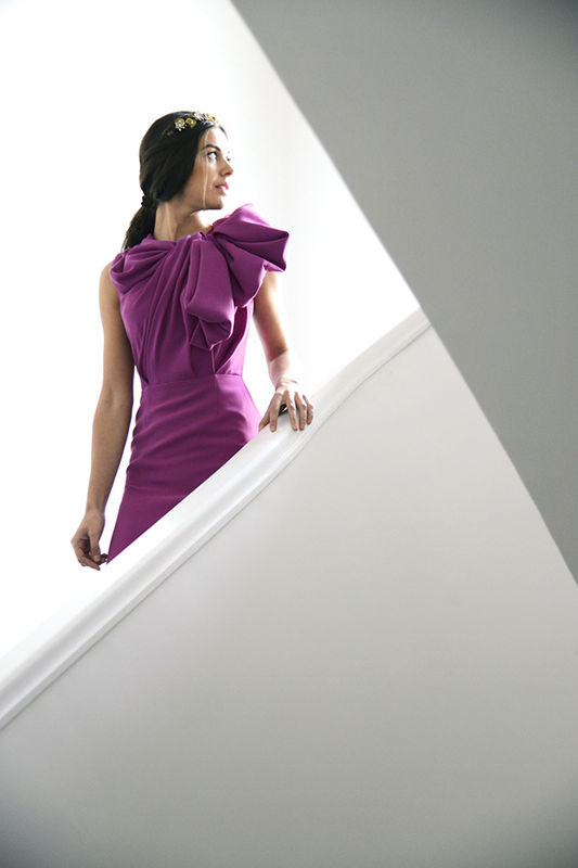 Vestido LEILA de María Barros