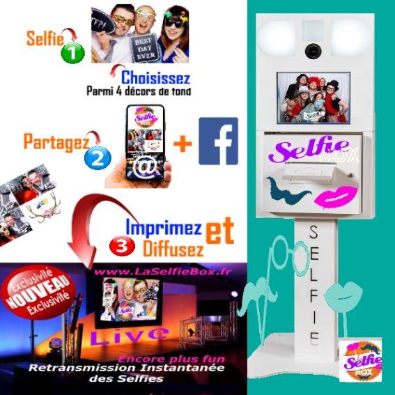 La Selfie Box - Photobooth