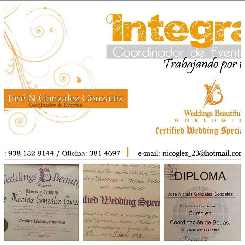 INTEGRA Coordinador de Eventos.
