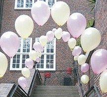 Beispiel: Hochzeitsdekoration Ballons, Foto: Aufsteiger Ballons.