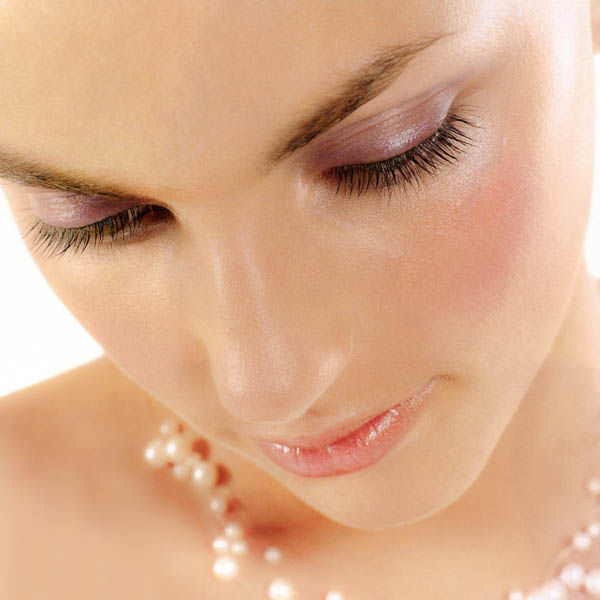 Beauty makeup for the Brides magazine