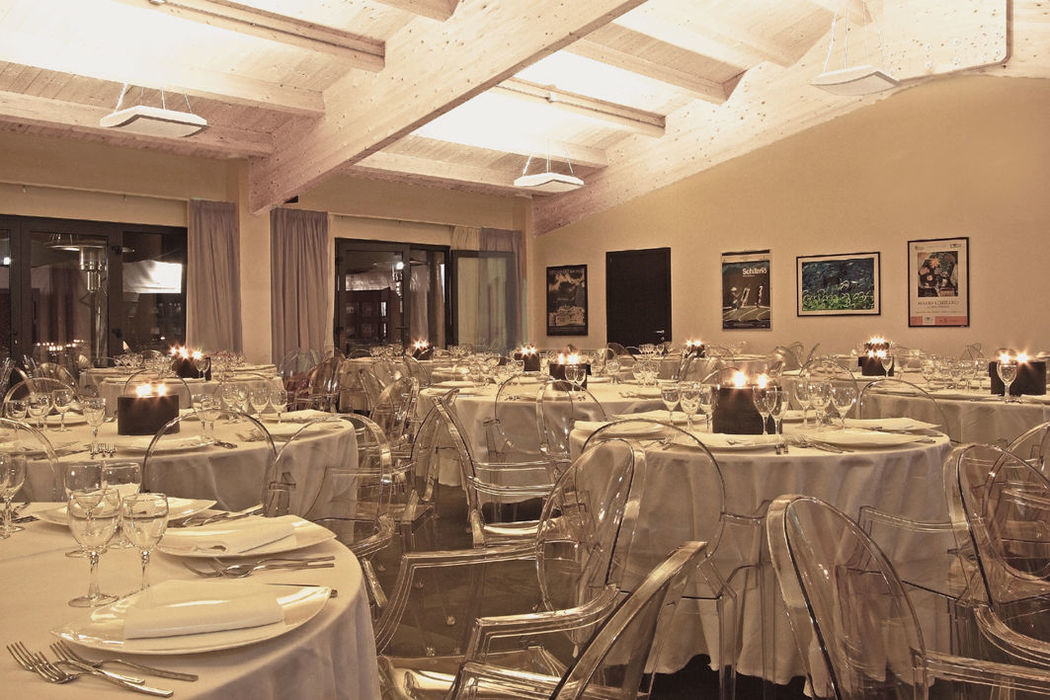 Interno della Sala dello Sporting Club