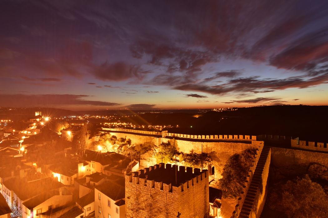 vista sobre a Vila de Óbidos