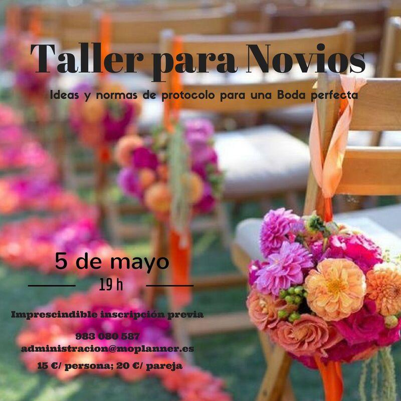 TALLER PARA NOVIOS