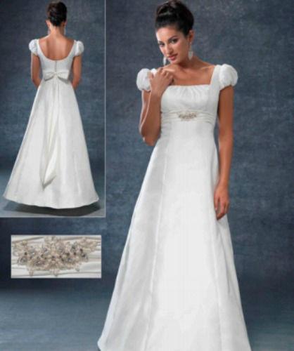 Beispiel: Brautmode, Foto: Modessa Braut & Abendmode.