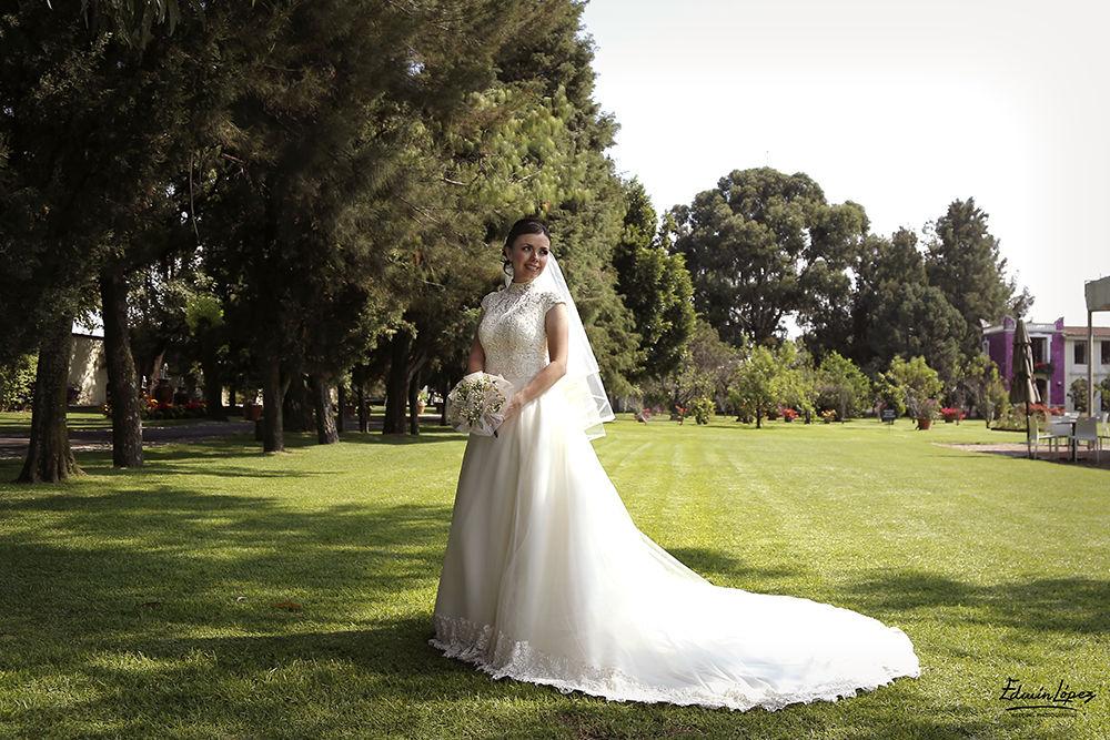 Bride ll Hacienda San Jose Actipan