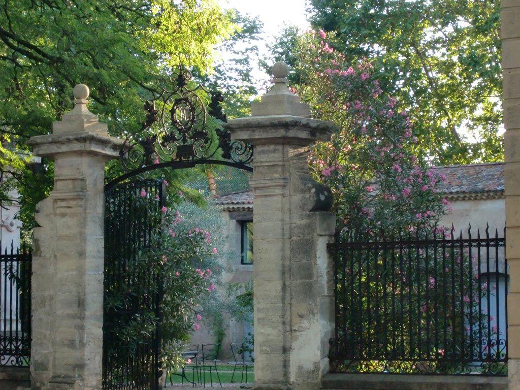 Château Rieutort - entrée principale