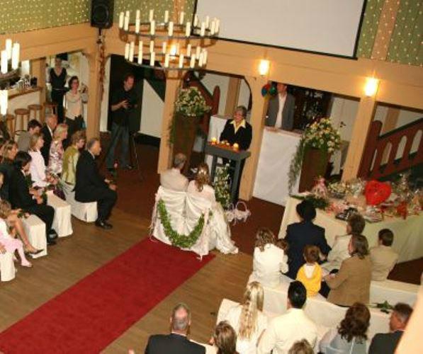 Beispiel: Eine Zeremonie nach Ihren Vorstellungen, Foto: Sabine Zimmermann.