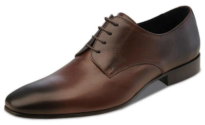 Beispiel: Schwarz-Brauner Schuh für Ihren Hochzeitstag, Foto: Wilvorst.