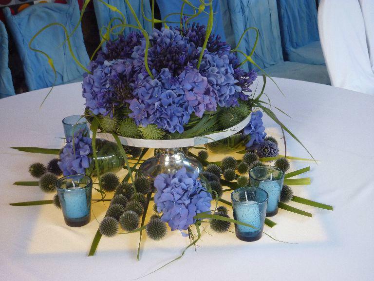 Beispiel: Wunderschöne Tischdekoration, Foto: Florastyle.