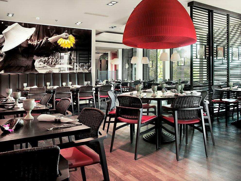 Das White Elephant Restaurant im Zürich Marriott Hotel ist  für seine authentischen Thai-Spezialitäten bekannt.