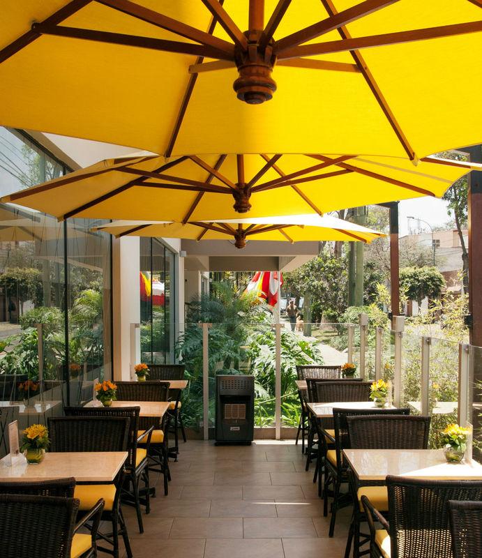 Terraza Aguaymanto Foresta Hotel Lima San Isidro