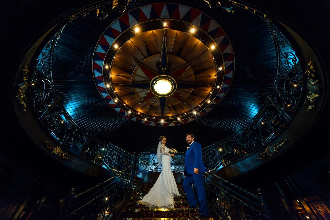Свадебная фотосессия на фрегате Благодать