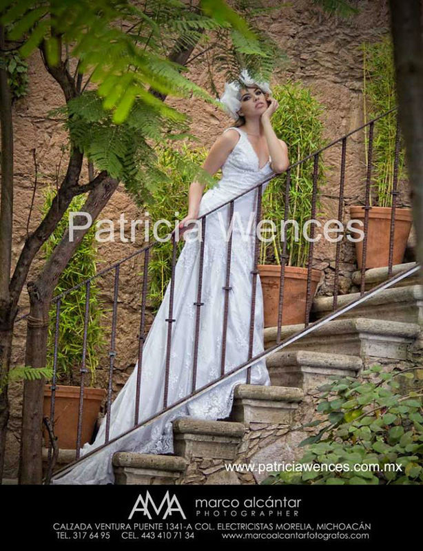 Modelo Paulette www.patriciawences.com.mx