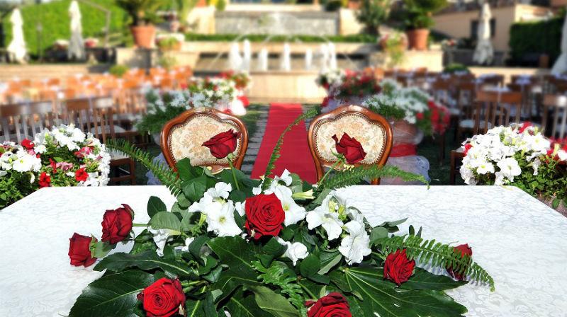 La cerimonia - Francesco Forti Ricevimenti