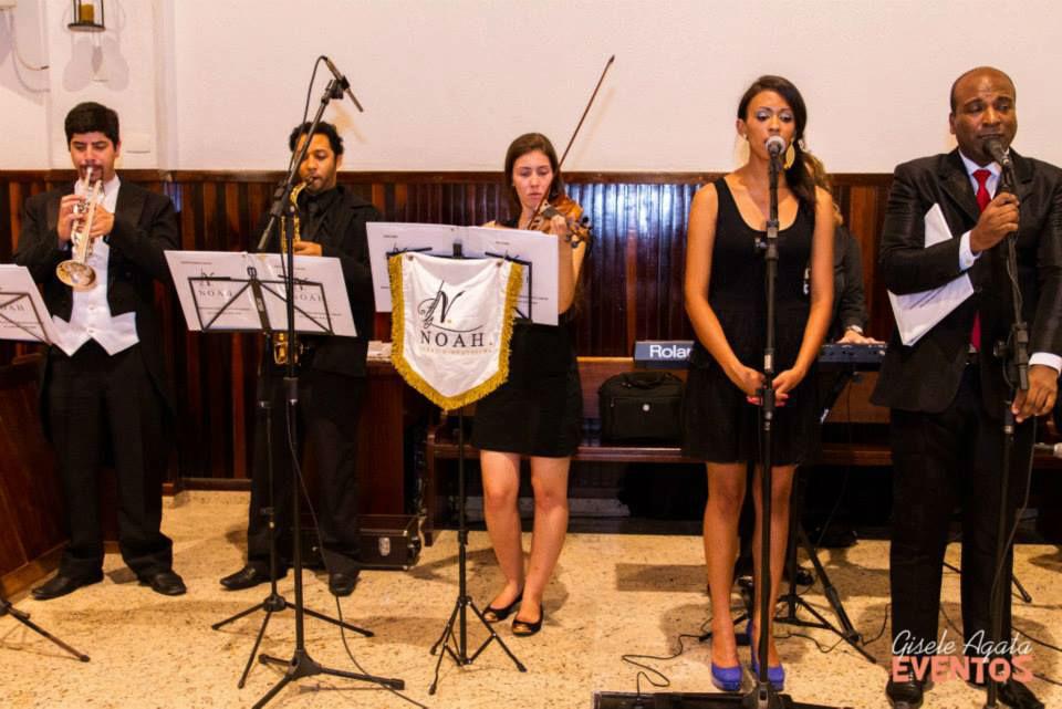 Noah Coral e Orquestra. Foto: Gisele Agata Eventos