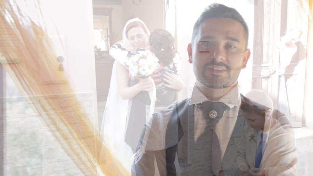 Alessandro e Laura, frame tratto dal wedding film