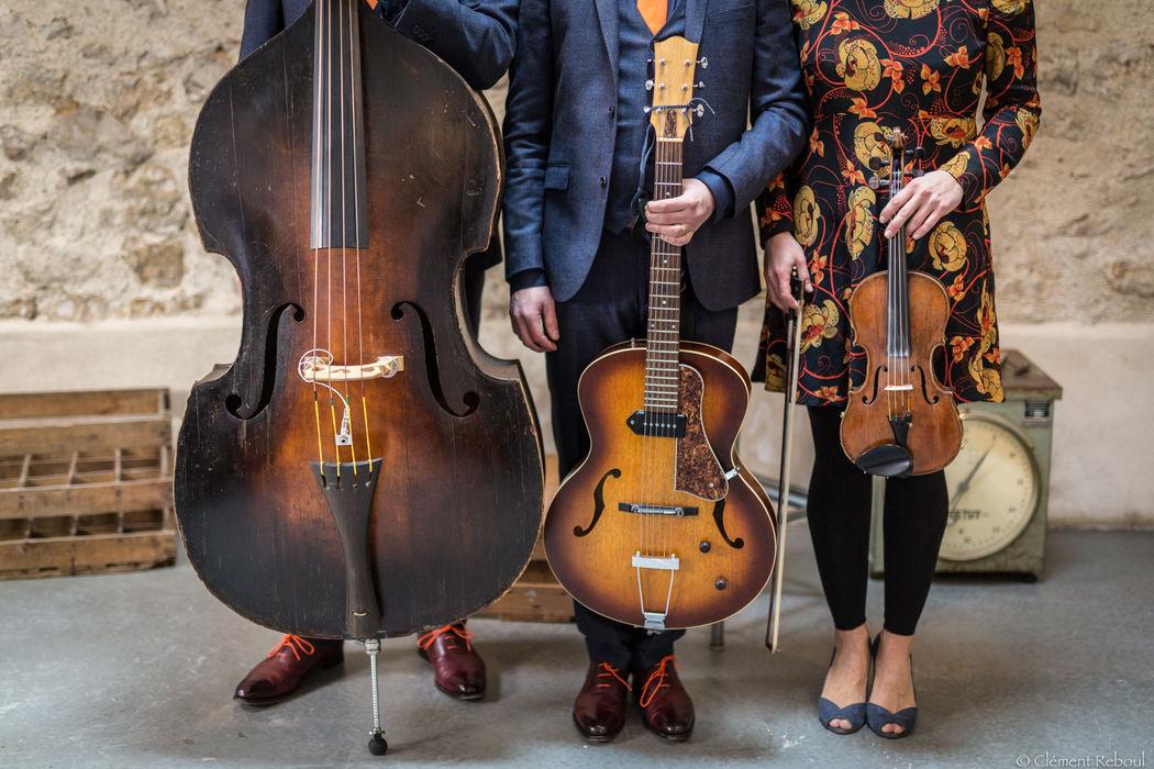 Trio jazz  http://www.jazz-manouche.clementreboul.com/